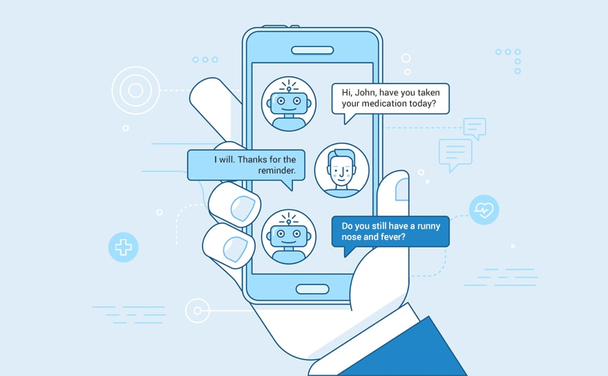 Patient-clinician chatbot