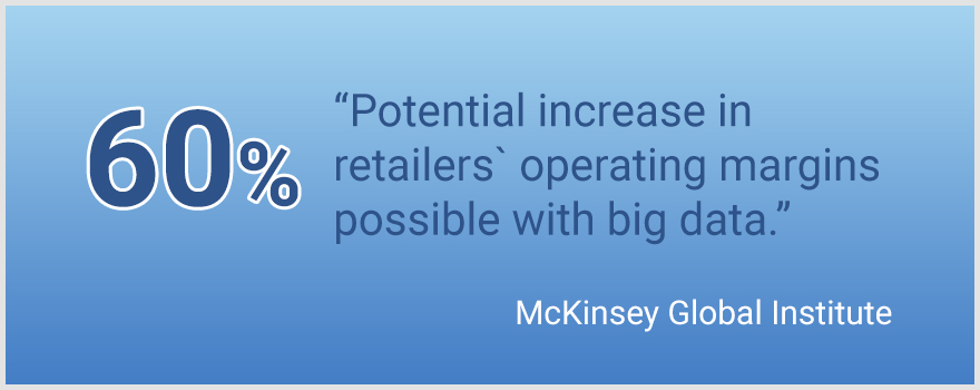 Big Data in eCommerce and retail statistics