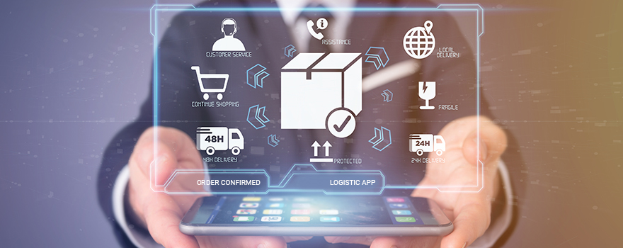 Logistics and SCM processes automatization using blockchain