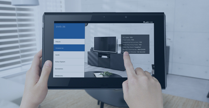 KV2Augmented Reality Application for TV Set Buyers