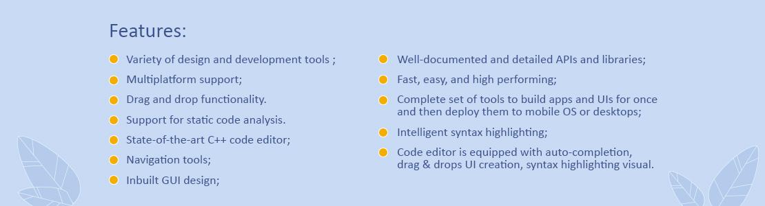 Qt Creator IDE for C and C++ development