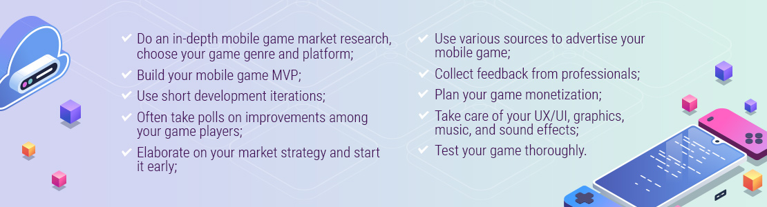 mobile game design tips