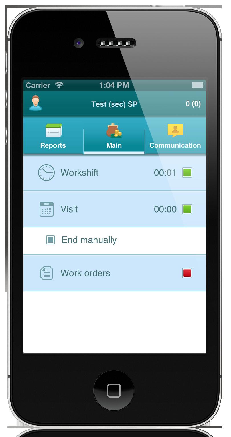 job time tracking app