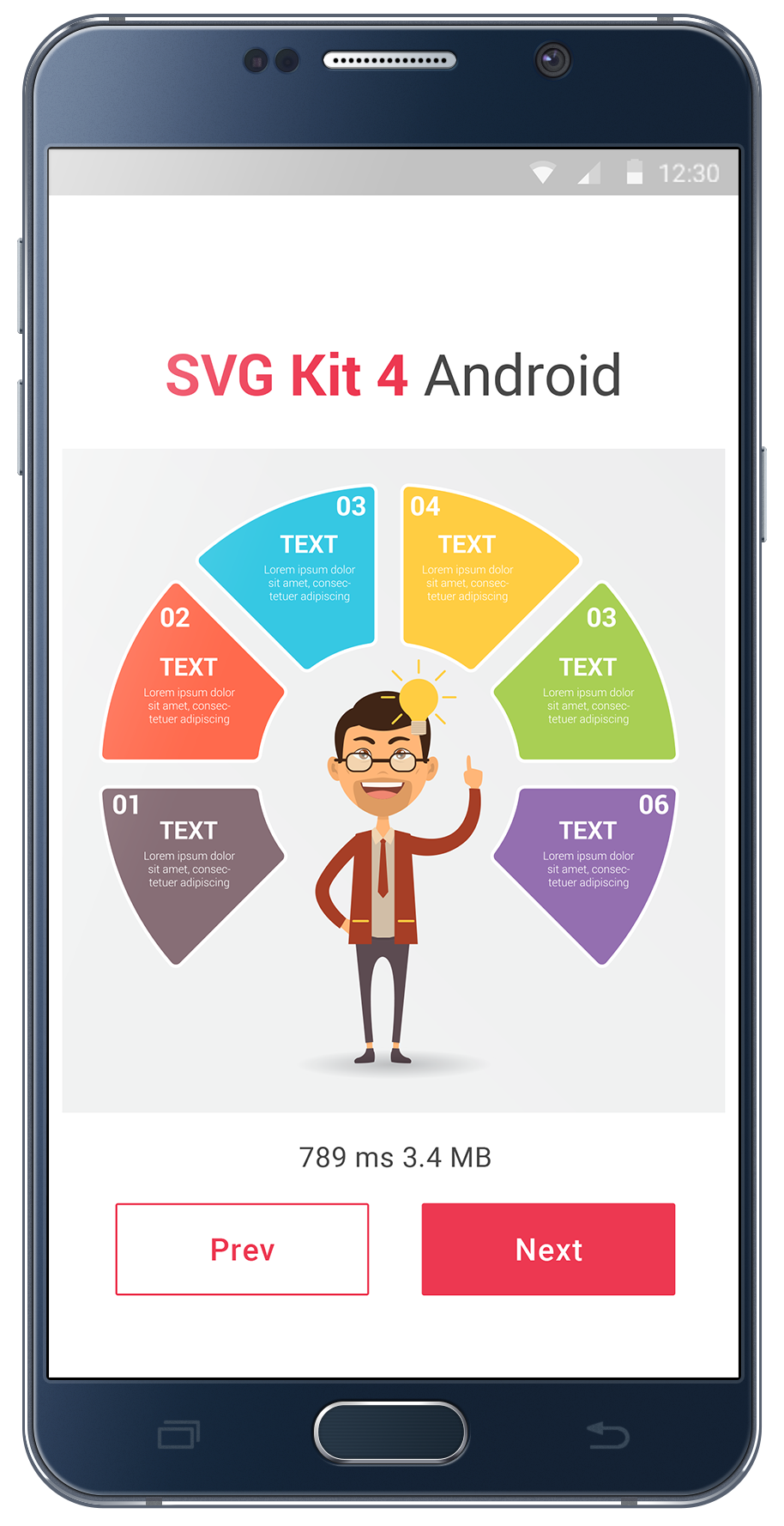 support mobile svg