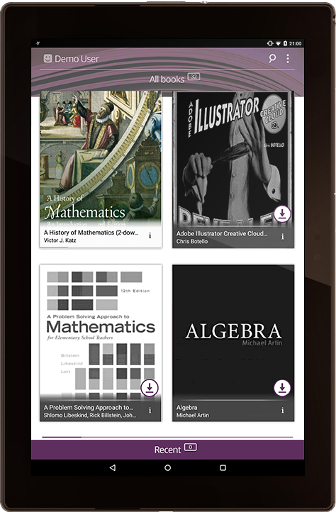 PDF ebook reader mobile app development   Case Study   SCAND