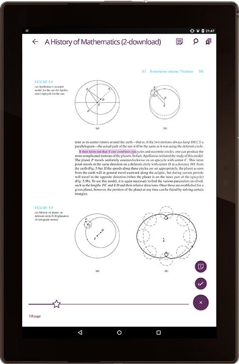 PDF ebook reader mobile app development | Case Study | SCAND