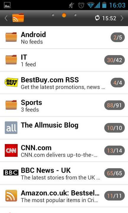 Personalize news